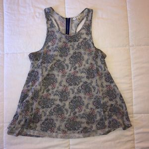 Patterned American Eagle tank top